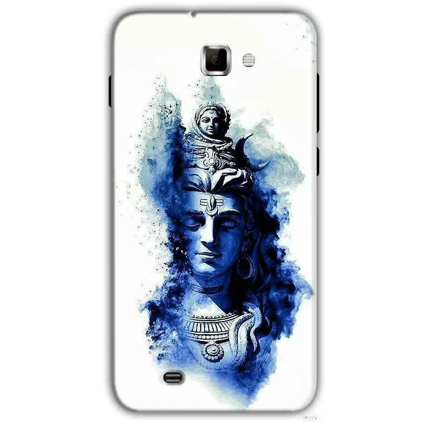 Samsung Galaxy Note 2 N7000 Mobile Covers Cases Shiva Blue White - Lowest Price - Paybydaddy.com