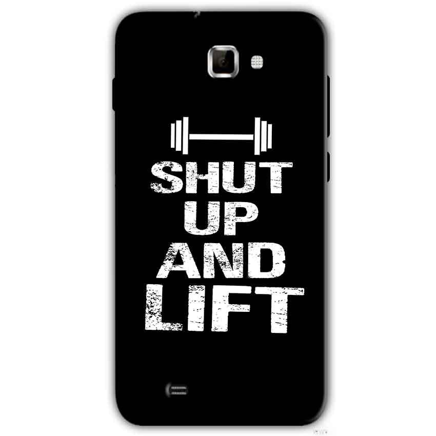 Samsung Galaxy Note 2 N7000 Mobile Covers Cases Shut Up And Lift - Lowest Price - Paybydaddy.com