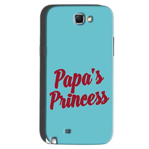 Samsung Galaxy Note 2 Mobile Covers Cases Papas Princess - Lowest Price - Paybydaddy.com