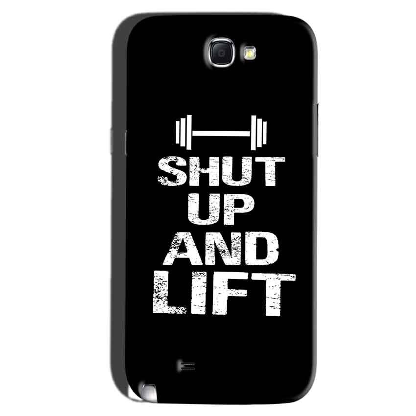 Samsung Galaxy Note 2 Mobile Covers Cases Shut Up And Lift - Lowest Price - Paybydaddy.com