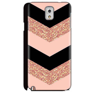 Samsung Galaxy Note 3 Mobile Covers Cases Black down arrow Pattern - Lowest Price - Paybydaddy.com