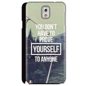 Samsung Galaxy Note 3 Mobile Covers Cases Donot Prove yourself - Lowest Price - Paybydaddy.com