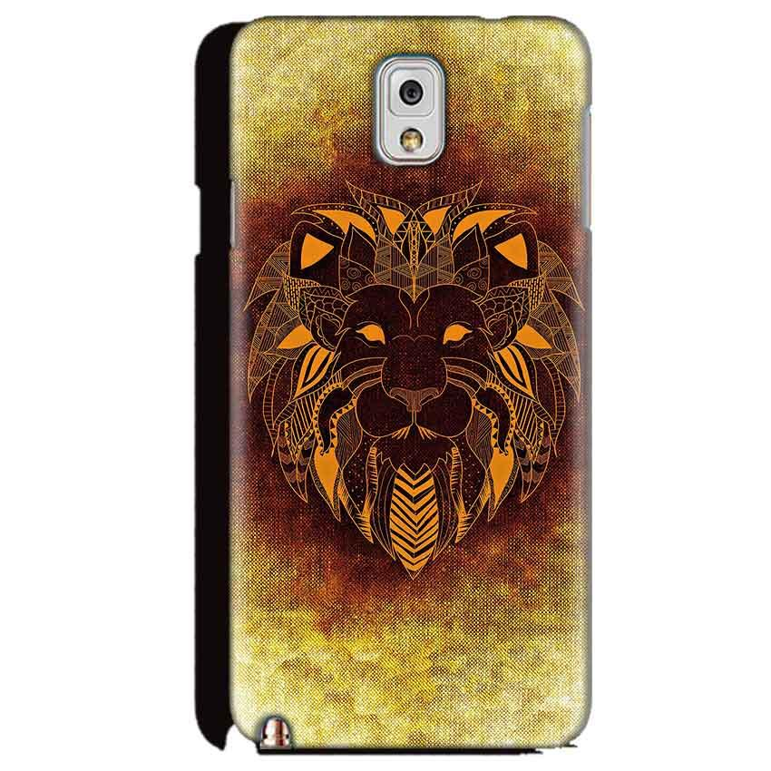Samsung Galaxy Note 3 Mobile Covers Cases Lion face art - Lowest Price - Paybydaddy.com