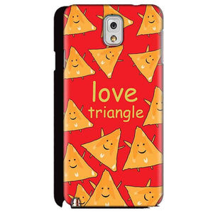 Samsung Galaxy Note 3 Mobile Covers Cases Love Triangle - Lowest Price - Paybydaddy.com
