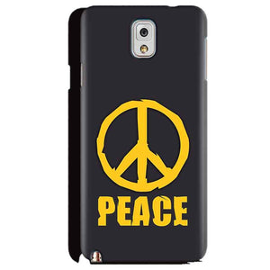 Samsung Galaxy Note 3 Mobile Covers Cases Peace Blue Yellow - Lowest Price - Paybydaddy.com