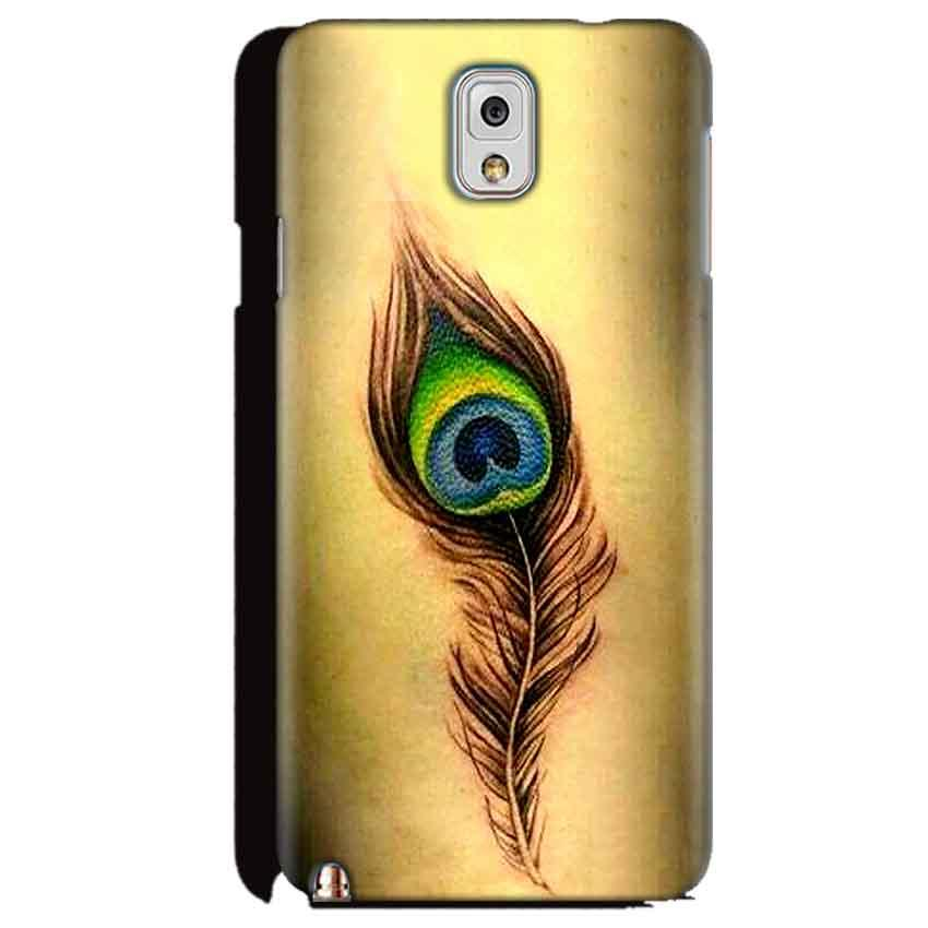 Samsung Galaxy Note 3 Mobile Covers Cases Peacock coloured art - Lowest Price - Paybydaddy.com