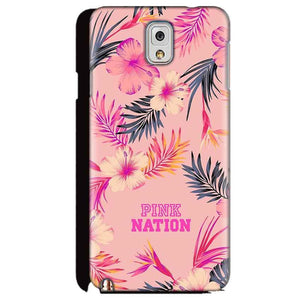 Samsung Galaxy Note 3 Mobile Covers Cases Pink nation - Lowest Price - Paybydaddy.com