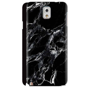 Samsung Galaxy Note 3 Mobile Covers Cases Pure Black Marble Texture - Lowest Price - Paybydaddy.com