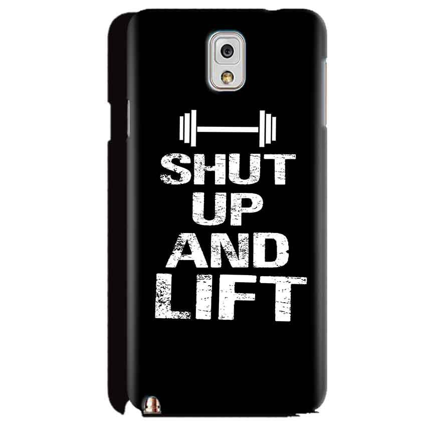 Samsung Galaxy Note 3 Mobile Covers Cases Shut Up And Lift - Lowest Price - Paybydaddy.com