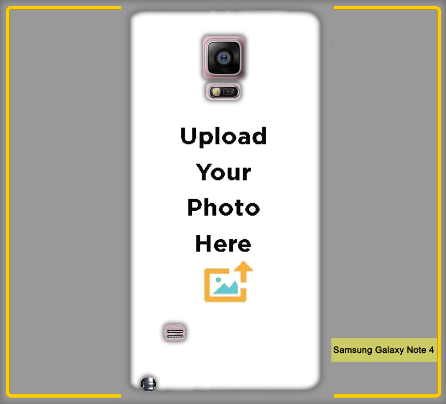 Customized Samsung Galaxy Note 4 Mobile Phone Covers & Back Covers with your Text & Photo
