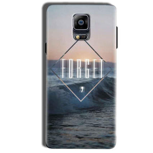 Samsung Galaxy Note 4 Mobile Covers Cases Forget Quote Something Different - Lowest Price - Paybydaddy.com
