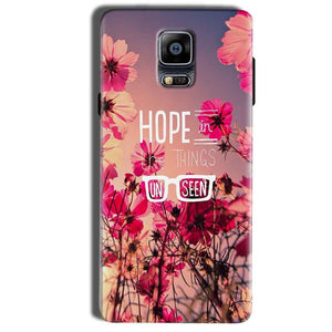 Samsung Galaxy Note 4 Mobile Covers Cases Hope in the Things Unseen- Lowest Price - Paybydaddy.com