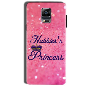 Samsung Galaxy Note 4 Mobile Covers Cases Hubbies Princess - Lowest Price - Paybydaddy.com