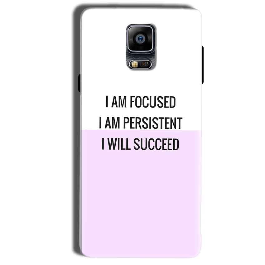 Samsung Galaxy Note 4 Mobile Covers Cases I am Focused - Lowest Price - Paybydaddy.com