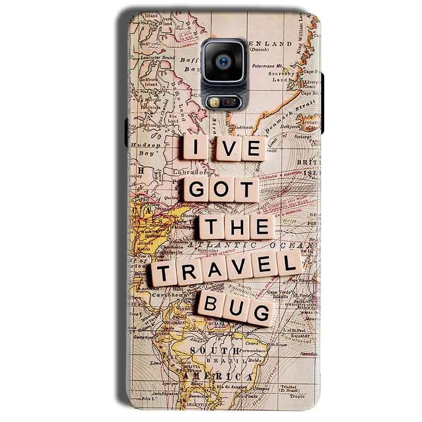 Samsung Galaxy Note 4 Mobile Covers Cases Live Travel Bug - Lowest Price - Paybydaddy.com