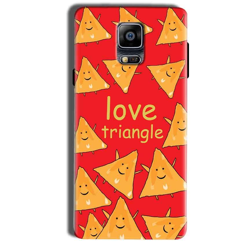 Samsung Galaxy Note 4 Mobile Covers Cases Love Triangle - Lowest Price - Paybydaddy.com