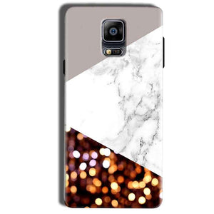 Samsung Galaxy Note 4 Mobile Covers Cases MARBEL GLITTER - Lowest Price - Paybydaddy.com