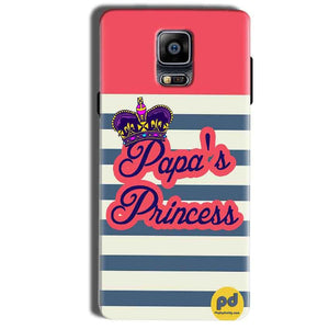 Samsung Galaxy Note 4 Mobile Covers Cases Papas Princess - Lowest Price - Paybydaddy.com