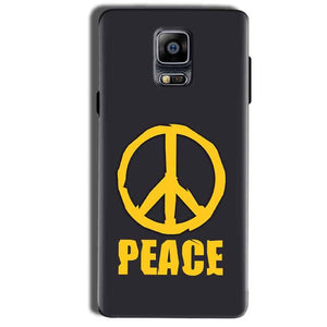Samsung Galaxy Note 4 Mobile Covers Cases Peace Blue Yellow - Lowest Price - Paybydaddy.com