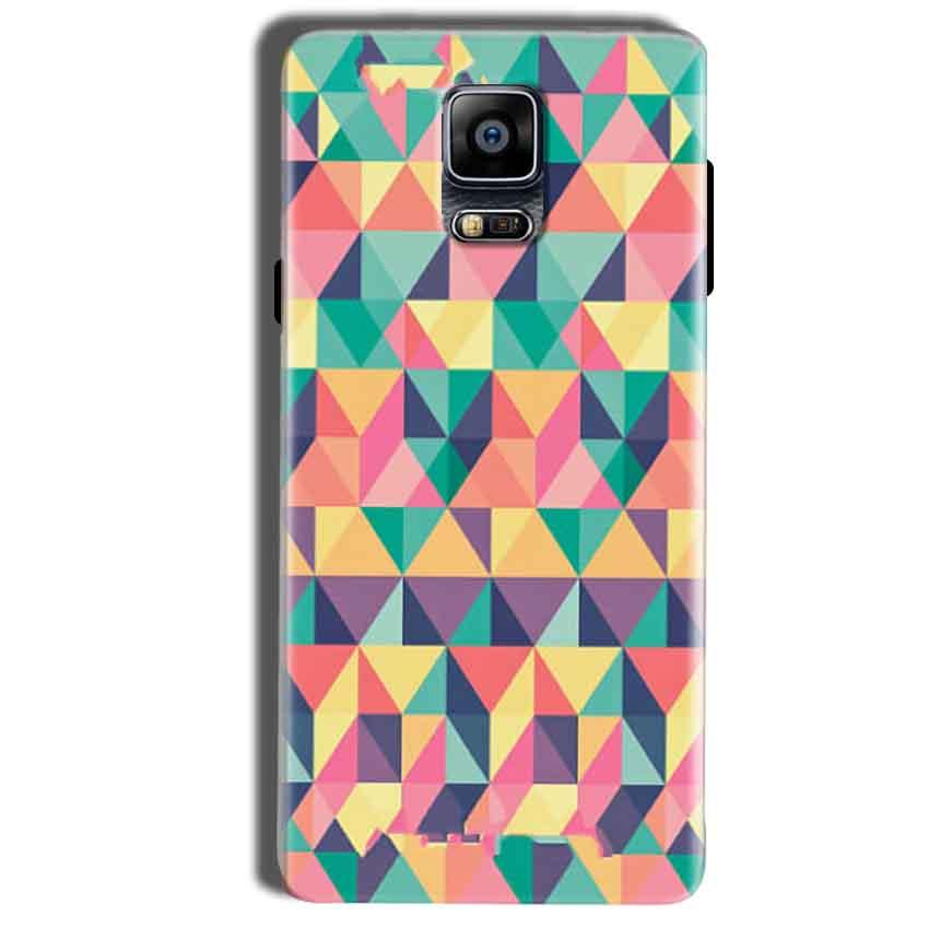 Samsung Galaxy Note 4 Mobile Covers Cases Prisma coloured design - Lowest Price - Paybydaddy.com