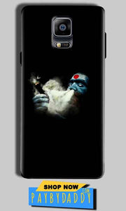 Samsung Galaxy Note 4 Mobile Covers Cases Shiva Aghori Smoking - Lowest Price - Paybydaddy.com