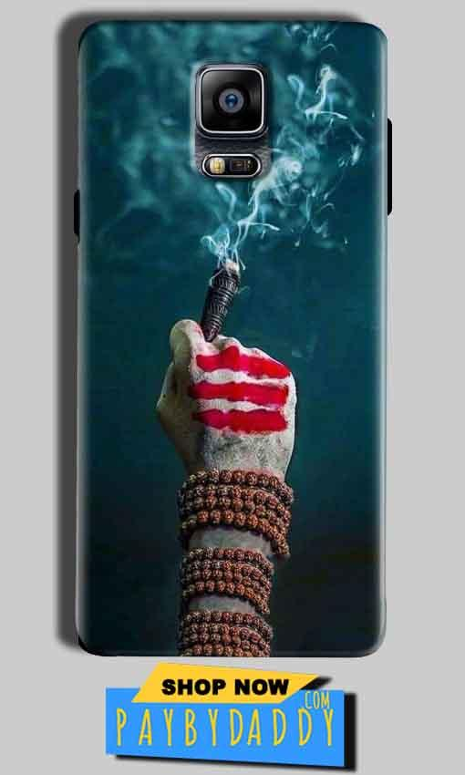 Samsung Galaxy Note 4 Mobile Covers Cases Shiva Hand With Clilam - Lowest Price - Paybydaddy.com