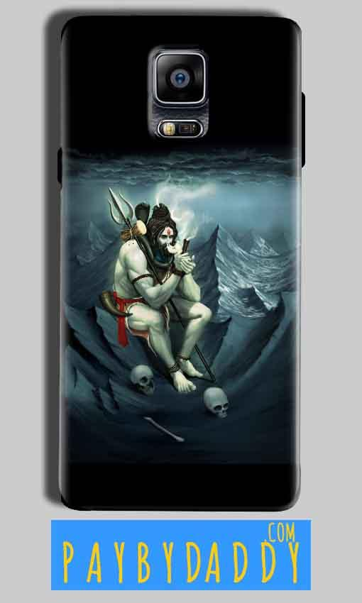 Samsung Galaxy Note 4 Mobile Covers Cases Shiva Smoking - Lowest Price - Paybydaddy.com