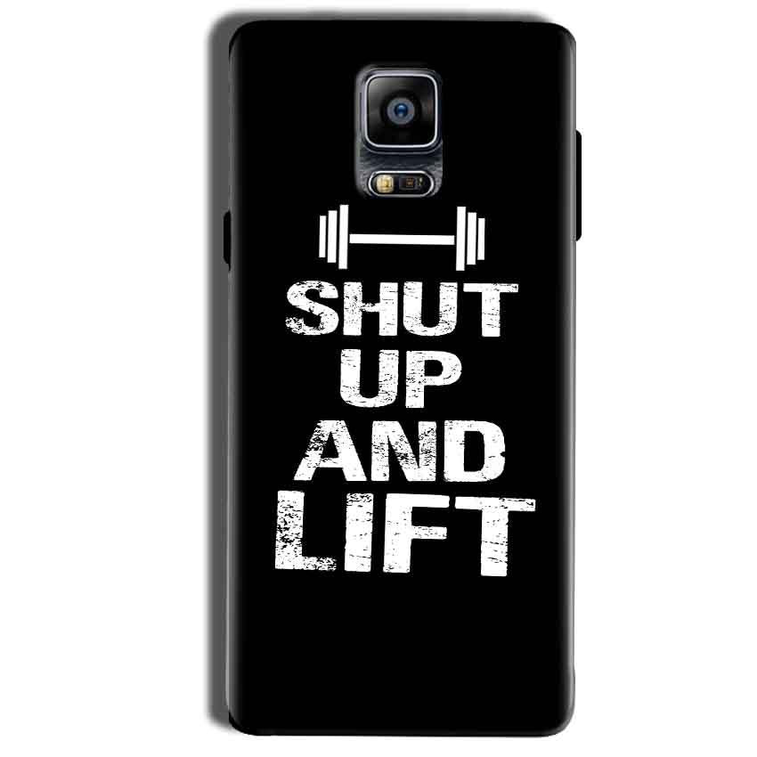 Samsung Galaxy Note 4 Mobile Covers Cases Shut Up And Lift - Lowest Price - Paybydaddy.com