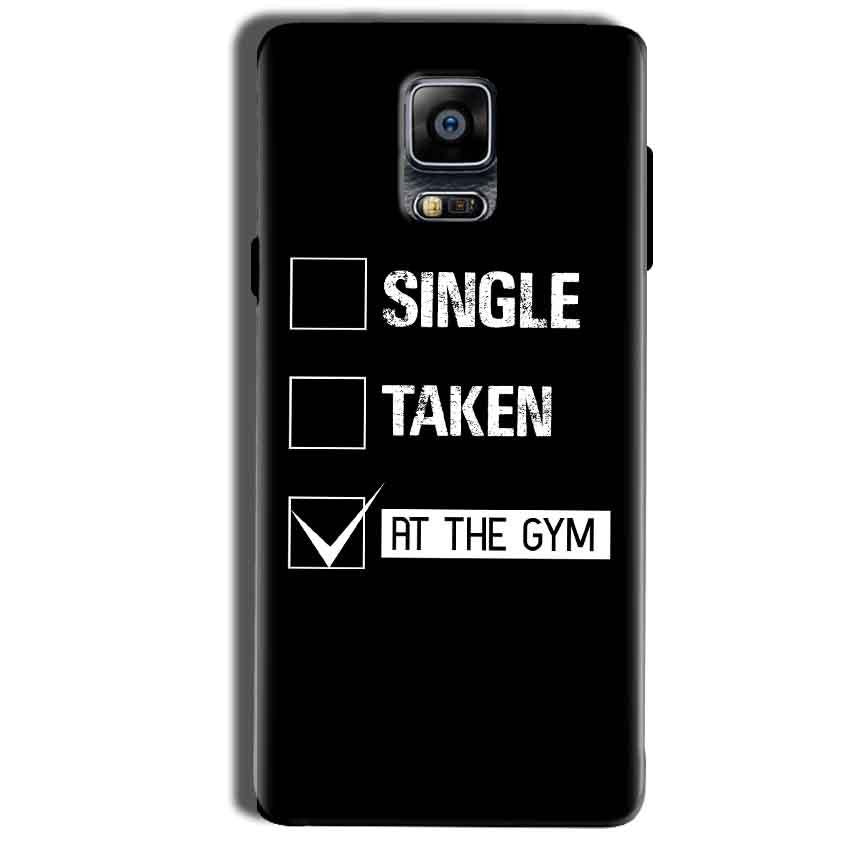 Samsung Galaxy Note 4 Mobile Covers Cases Single Taken At The Gym - Lowest Price - Paybydaddy.com