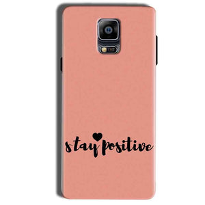 Samsung Galaxy Note 4 Mobile Covers Cases Stay Positive - Lowest Price - Paybydaddy.com