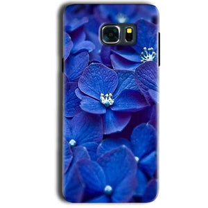 Samsung Galaxy Note 5 Mobile Covers Cases Blue flower - Lowest Price - Paybydaddy.com
