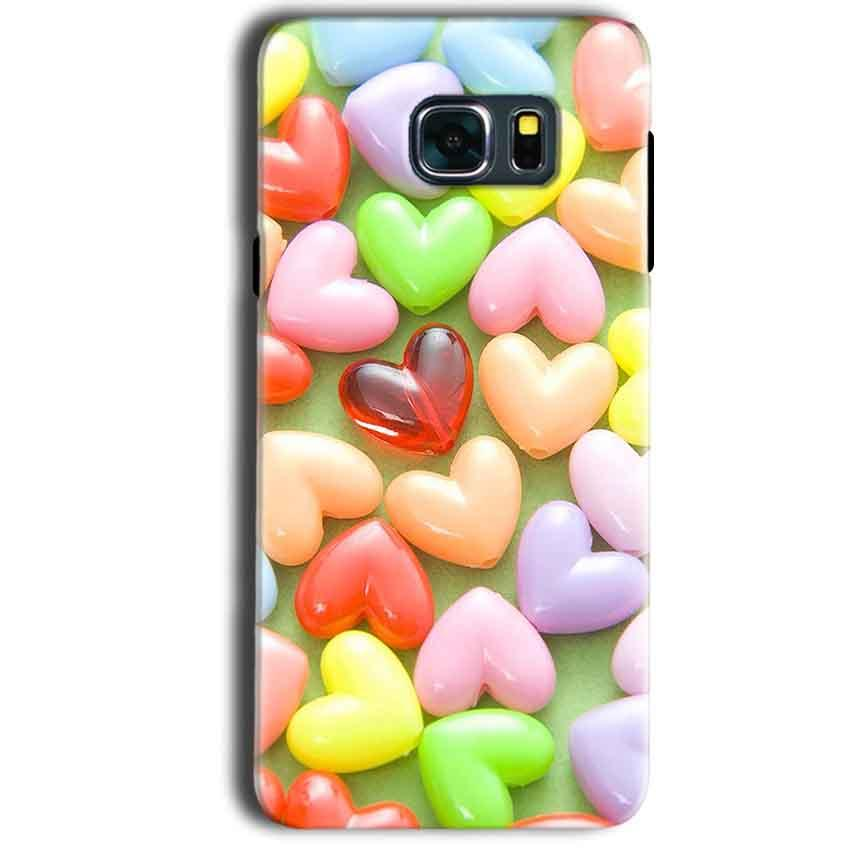 Samsung Galaxy Note 5 Mobile Covers Cases Heart in Candy - Lowest Price - Paybydaddy.com