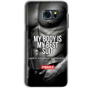 Samsung Galaxy Note 5 Mobile Covers Cases My Body is my best suit - Lowest Price - Paybydaddy.com