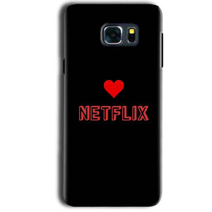Samsung Galaxy Note 5 Mobile Covers Cases NETFLIX WITH HEART - Lowest Price - Paybydaddy.com