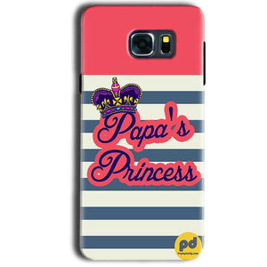 Samsung Galaxy Note 5 Mobile Covers Cases Papas Princess - Lowest Price - Paybydaddy.com