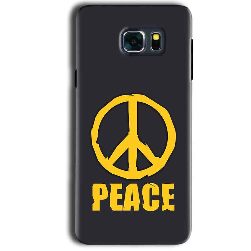 Samsung Galaxy Note 5 Mobile Covers Cases Peace Blue Yellow - Lowest Price - Paybydaddy.com