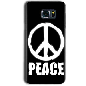 Samsung Galaxy Note 5 Mobile Covers Cases Peace Sign In White - Lowest Price - Paybydaddy.com