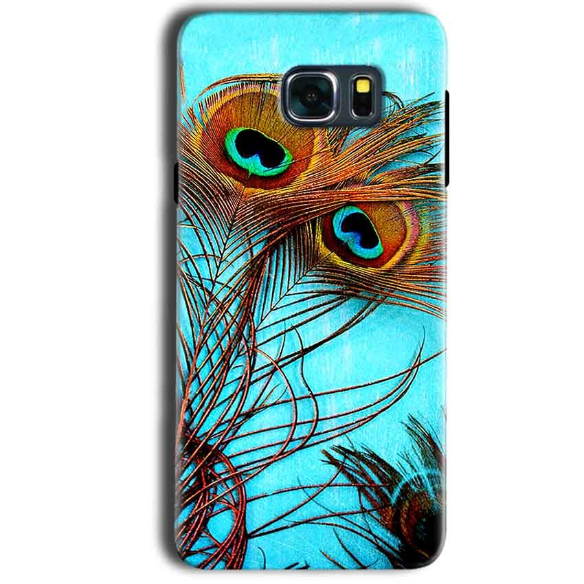 Samsung Galaxy Note 5 Mobile Covers Cases Peacock blue wings - Lowest Price - Paybydaddy.com