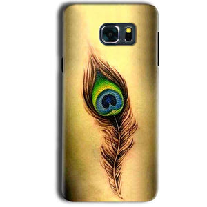 Samsung Galaxy Note 5 Mobile Covers Cases Peacock coloured art - Lowest Price - Paybydaddy.com