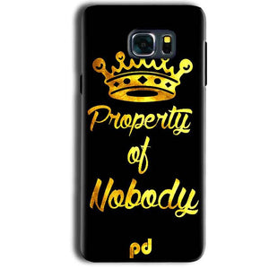 Samsung Galaxy Note 5 Mobile Covers Cases Property of nobody with Crown - Lowest Price - Paybydaddy.com