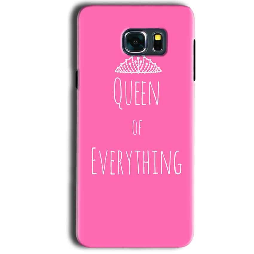 Samsung Galaxy Note 5 Mobile Covers Cases Queen Of Everything Pink White - Lowest Price - Paybydaddy.com
