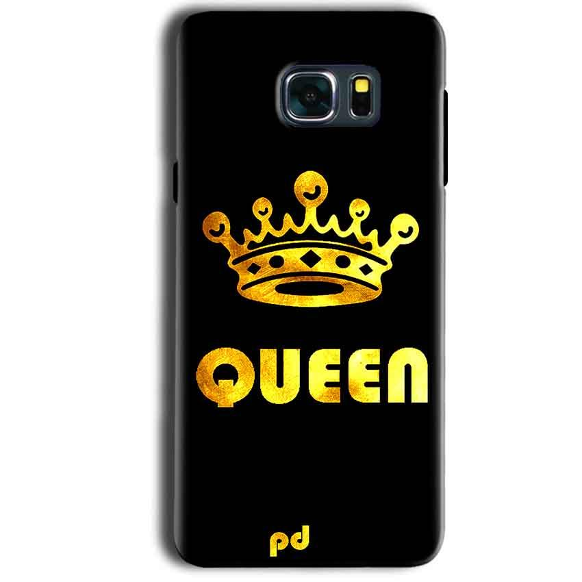 Samsung Galaxy Note 5 Mobile Covers Cases Queen With Crown in gold - Lowest Price - Paybydaddy.com