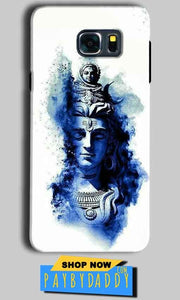 Samsung Galaxy Note 5 Mobile Covers Cases Shiva Blue White - Lowest Price - Paybydaddy.com