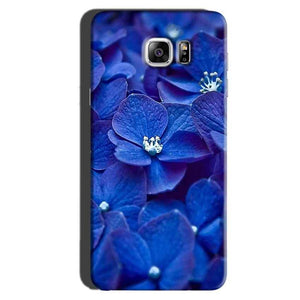 Samsung Galaxy Note 6 Mobile Covers Cases Blue flower - Lowest Price - Paybydaddy.com
