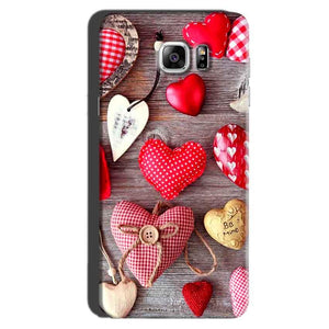 Samsung Galaxy Note 6 Mobile Covers Cases Hearts- Lowest Price - Paybydaddy.com
