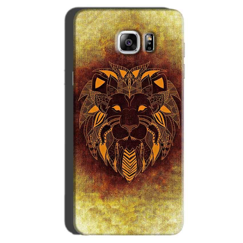 Samsung Galaxy Note 6 Mobile Covers Cases Lion face art - Lowest Price - Paybydaddy.com