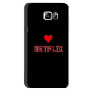 Samsung Galaxy Note 6 Mobile Covers Cases NETFLIX WITH HEART - Lowest Price - Paybydaddy.com