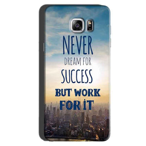 Samsung Galaxy Note 6 Mobile Covers Cases Never Dreams For Success But Work For It Quote - Lowest Price - Paybydaddy.com