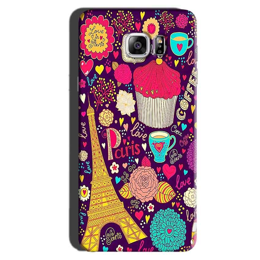 Samsung Galaxy Note 6 Mobile Covers Cases Paris Sweet love - Lowest Price - Paybydaddy.com