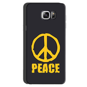 Samsung Galaxy Note 6 Mobile Covers Cases Peace Blue Yellow - Lowest Price - Paybydaddy.com